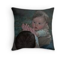 moment of amazement Throw Pillow