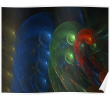 COLORFUL ABSTRACT # 2 Poster