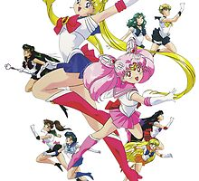 Sailor Scouts by PerfumedLizard