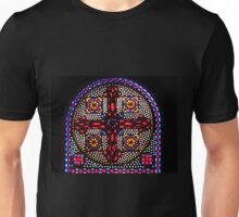 Stained Glass Window - Coptic Church Unisex T-Shirt