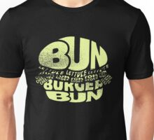 Hamburger Items Foodie Humor Bacon Food Unisex T-Shirt