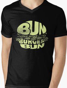 Hamburger Items Foodie Humor Bacon Food Mens V-Neck T-Shirt