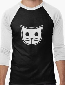 Meow Meow Beenz Men's Baseball ¾ T-Shirt