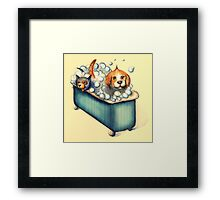 Happy Bathday! Framed Print