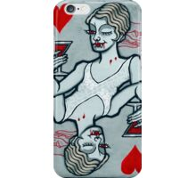 Lucy, Vampire Jack of Hearts iPhone Case/Skin