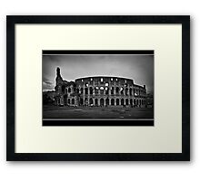il colosseo Framed Print