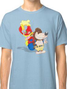 Ren and Stimpy x Banjo-Kazooie Classic T-Shirt