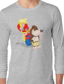 Ren and Stimpy x Banjo-Kazooie Long Sleeve T-Shirt