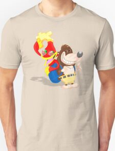Ren and Stimpy x Banjo-Kazooie T-Shirt