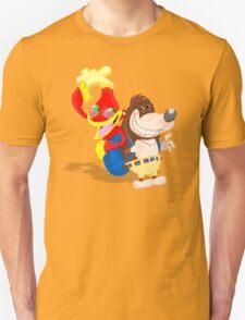 Ren and Stimpy x Banjo-Kazooie T-Shirt