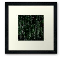 Matrix. Framed Print