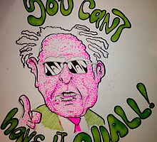 """Bernie Sanders """"cant have it all"""" memorabilia by sulungskwa"""