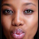 kiss for you  by Lebogang Manganye