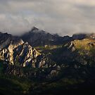 Sunrise over the Picos de Europa by Christopher Cullen