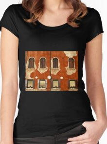 Aged Facade - Venice Women's Fitted Scoop T-Shirt