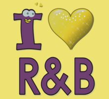 I LOVE R&B Kids Tee