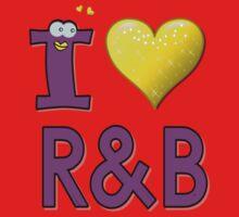 I LOVE R&B Baby Tee