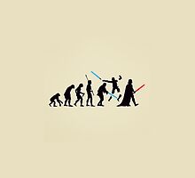 Human Evolution Star Wars by Malethor