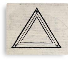Hic Codex Auienii Continent Epigrama Astronomy Rufius Festivus Avenius 1488 Astronomy Illustrations 0157 Constellations Canvas Print