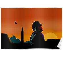 Eagle Gaze Poster