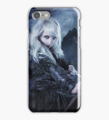 Elven warrior girl archeress iPhone Case/Skin