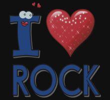 I LOVE ROCK One Piece - Short Sleeve