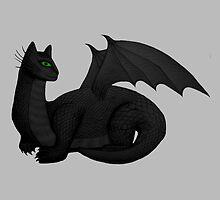Cat Dragon by shaneisadragon