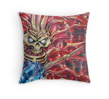 Invaders.....!! Throw Pillow