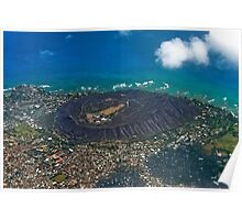 Diamond Head Crater Poster