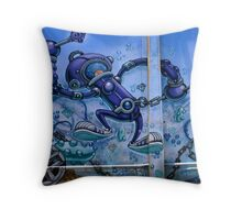 Under the sea.... it lives.... Throw Pillow