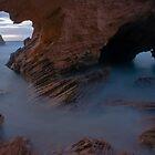 Cave At St Paul's Beach by Scott Sheehan