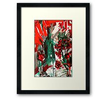 Red Grape Framed Print