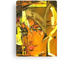 Sunny Blond Canvas Print
