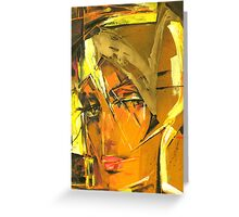 Sunny Blond Greeting Card
