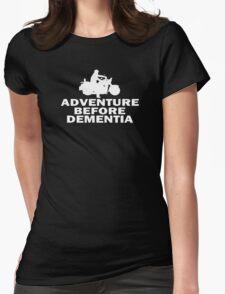 Motorbike Adventure Before Dementia Womens Fitted T-Shirt