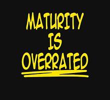 Maturity Is Overrated Sleeveless Unisex T-Shirt