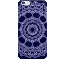 Blue lace 5 iPhone Case/Skin