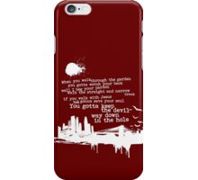 """Way Down In The Hole"""" - The Wire - Light iPhone Case/Skin"""