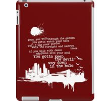 """Way Down In The Hole"""" - The Wire - Light iPad Case/Skin"""