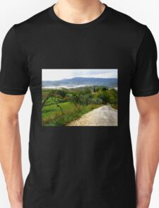 Country Road - Florence, Italy Unisex T-Shirt