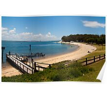 Nelson Bay - Newcastle - New South Wales Poster