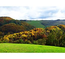 Colours of Tuscany - Italy Photographic Print