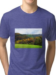 Colours of Tuscany - Italy Tri-blend T-Shirt