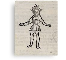 Hic Codex Auienii Continent Epigrama Astronomy Rufius Festivus Avenius 1488 Astronomy Illustrations 0184 Constellations Canvas Print