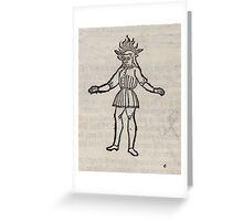 Hic Codex Auienii Continent Epigrama Astronomy Rufius Festivus Avenius 1488 Astronomy Illustrations 0184 Constellations Greeting Card