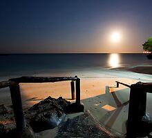 Moon Rise :: Zanzibar by Clinton Hadenham