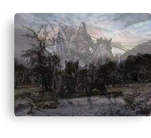 ghost army Canvas Print