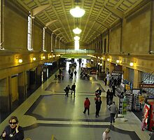 Adelaide Railway Station (the origanal one) by shazroyce