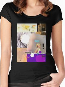 Where Is The Love? Women's Fitted Scoop T-Shirt