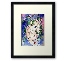 December's Delight Framed Print